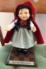 "Richard Simmons DOLL  ""LITTLE RED RIDING HOOD"" of Childhood Dreams 326/5000"