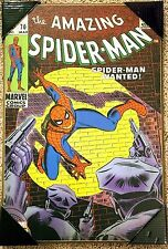 Amazing Spider-Man # 70 Marvel Comics Vintage Wooden Wall Art 13'' x 19'' Poster