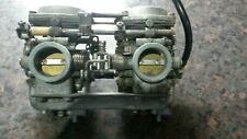 Yamaha XS 250 Mikuni twin carburettor. Yamaha.XS250 carburettor