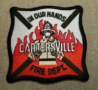 GA Cartersville Georgia Fire Patch