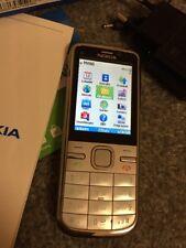 Nokia c5-00 - Bianco (Senza SIM-lock) Smartphone 100% originale!