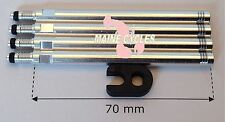 Tufo 70mm presta valve extenders & valve core tool (4 extenders per order)
