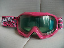 Pink Wulfsport Kids Goggles Girls Youth Childs Quad Lt Pw Helmet Wulf Motocross