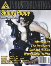 Industrial NatioN Magazine #21 Skinny Puppy Poster Richard H. Kirk The Residents