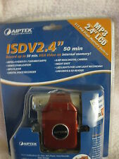 """brand new & sealed AIPTEK ISDV2.4"""" LCD MP3 512MB FLASH MEMORY BUILT-IN"""
