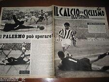 IL CALCIO E CICLISMO ILLUSTRATO 1963/2=SIVORI=JUVENTUS=VENEZIA=PALERMO=SAMPDORIA
