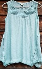 Womens Style & Co Mint Green Top Size S
