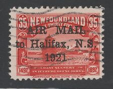 NEWFOUNDLAND C3 used - 1921 Air Post issue
