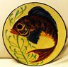 [Wandteller - Wall plate] Fisch / fish handpainted similary Puigdemont style