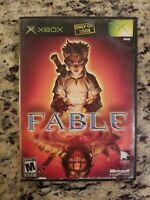 FABLE Xbox , NO Manual Good TESTED FREE USA SHIPPING