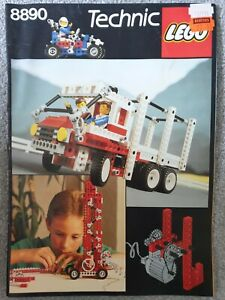 Vintage Lego Technical Instructions - 8860 and 8890