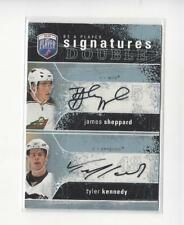2007-08 Be A Player Signatures James Sheppard/Tyler Kennedy AUTOGRAPH