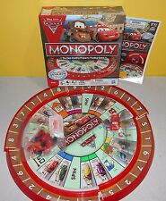 Monopoly Disney Cars 2 Edition 2011 Parker Brothers 100% Complete Ages 5+