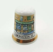More details for finsbury china thimble coronation street themed