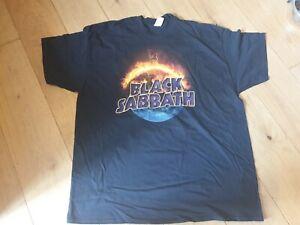 Official The End tour 2016 Black Sabbath Shirt 2xl Xxl tee shirt t-shirt