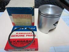 Kawasaki F81M piston and rings, vintage,  NOS