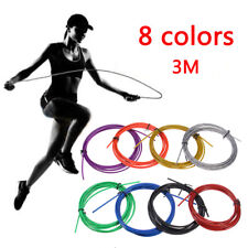 3M 8 color Jumping Rope Replaceable Wire Speed Jump Skipping Cable Replacement