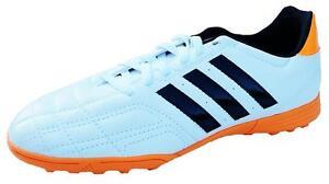 Adidas Kids GOLETTO IV ASTRO Football Trainers F33030 10k TO 5.5uk WHITE/BLACK
