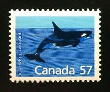 Canada #1173i HP MNH, Killer Whale Definitive Stamp 1988