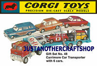 Corgi Toys GS 48 Gift Set Car Transporter A3 Size Poster Advert Leaflet Sign