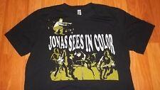 Greensboro N.C. PUNK Rock Jonas Sees in Color concert T-Shirt Large mens womens