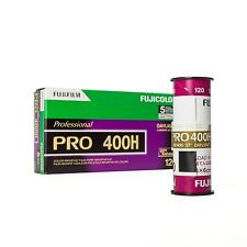5er Pack Fuji Fujifilm Pro 400H 400 H Rollfilm 120