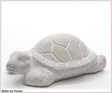 Beton Schildkröte Deko Tier Gartendeko Dekofigur Vintage Tierfigur L. ca. 16 cm