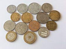 Lot de 15 pièces Monaco TTB
