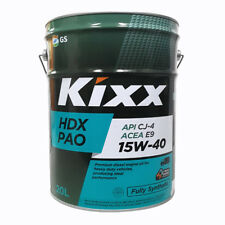 Kixx PAO HDX - PAO Synthetic Diesel Engine Oil - 15W-40, 20 Litre