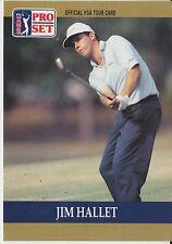 Jim Hallet #37 1990 Pro Set PGA Tour Golf Special Inaugural