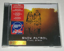 SNOW PATROL CD FINAL STRAW +BONUS TRACKS VERY GOOD 2004 9866089