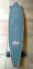 "Sector 9 Pintail 45.5"" longboard with black Gullwing Charger trucks & red Wheels"