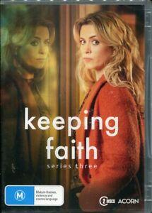Keeping Faith Third Series Three 3 DVD NEW Region 4