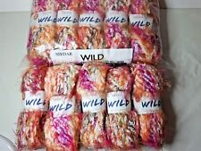 500 gm Sirdar Wild Chunky Soft Fluffy Fleecy WOOL YARN Job lot 25 FREE POST