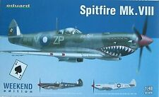 Eduard 1/48 EDK84139 Supermarine Spitfire Mk VIII Weekend Edition