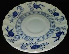 "Johnson Brothers ""BLUE NORDIC""  Cup Saucer Plate, 5 1/2"" Onion Floral L@@K!"