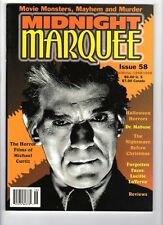 WoW! Midnight Marquee #58 Dr. Mabuse! Halloween Horrors! Nightmare Before Xmas!