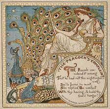 Princezna Hyacinta vintage art nouveau poster repro 16x24
