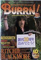 BURRN MAGAZINE JAPAN - OCT 2004 / RITCHIE BLACKMORE / AEROSMITH / ANGRA