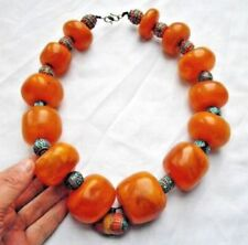 Amber Primary Post - 1940 Asian/Oriental Antique Necklaces/Pendants