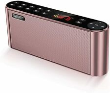Antimi Bluetooth Speakers Fm Radio Mp3 Player Stereo Portable Pink New ^^