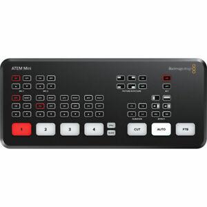 *Open Box* Blackmagic Design Atem Mini Hdmi Live Stream Switcher