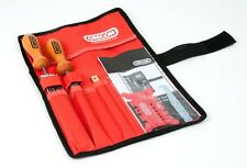 """Oregon Chainsaw Sharpening Kit 4mm 5/32"""" Includes Files Gauges Groove Cleaner"""