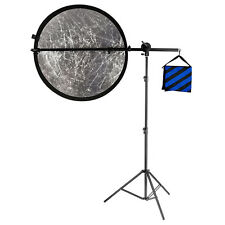 """Neewer 71""""/180cm Reflector Holder Arm Support & Light Stand for Photography"""