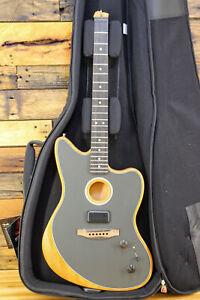 Fender Acoustasonic Jazzmaster Acoustic-Electric Guitar Ocean Turquoise, DAMAGED