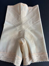 Vtg Young Smoothie Girdle Firm Shaper Sz L Large Nude #9128 Strouse, Alder Co