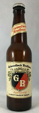 New ListingGriesedieck Brothers G/B Light Lager Beer 12 Ounce Beer Bottle w/Cap