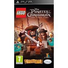 Sony PSP GIOCO LEGO DISNEY PIRATI DEI CARAIBI IL VIDEOGIOCO Inscatolato manuale