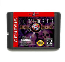Ultimate Mortal Kombat III 16 Bit Game Card For Sega Mega Drive & Sega Genesis