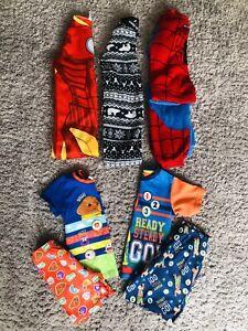 ❤️Huge Bundle Of Boys Pyjamas Pj's Sleepwear Age 5-6 Years X5❤️